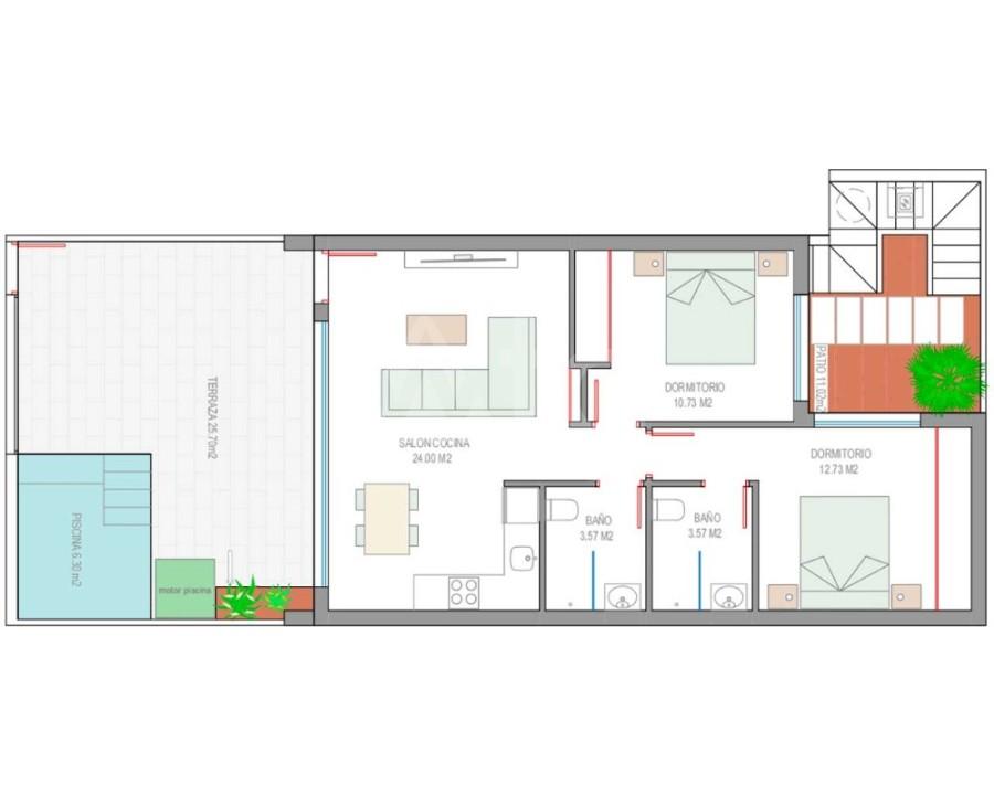 3 bedroom Villa in Ciudad Quesada  - LAI7752 - 5