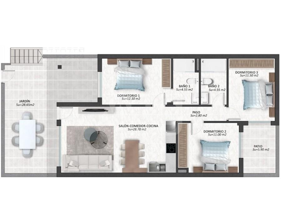 3 bedroom Villa in La Zenia  - IM8224 - 8