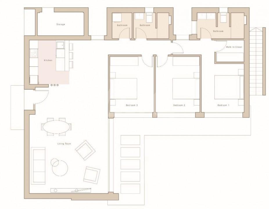 3 bedroom Villa in Mar de Cristal  - CVA115775 - 15