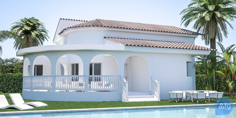3 bedroom Villa in Pilar de la Horadada - EF5952 - 1