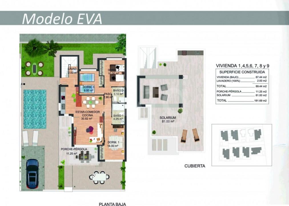 3 bedroom Villa in San Miguel de Salinas  - FS115247 - 14