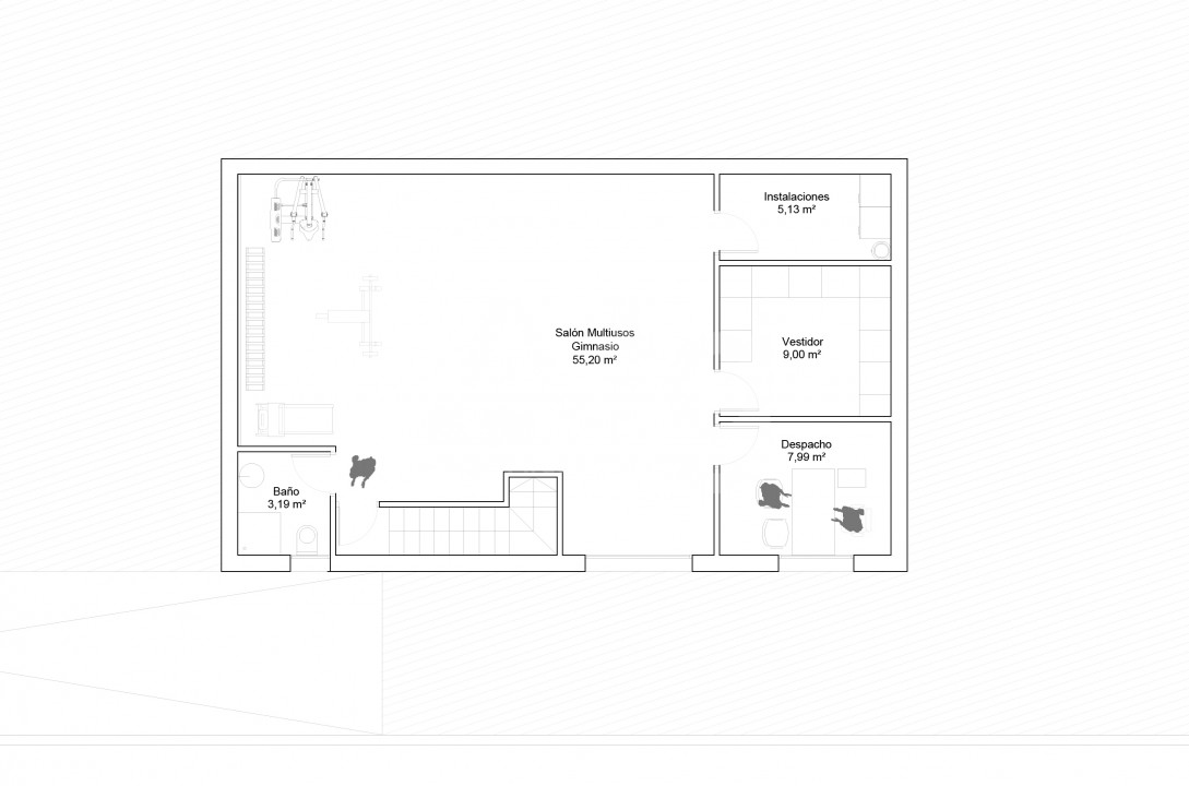 3 bedroom Villa in Finestrat  - HC115192 - 23