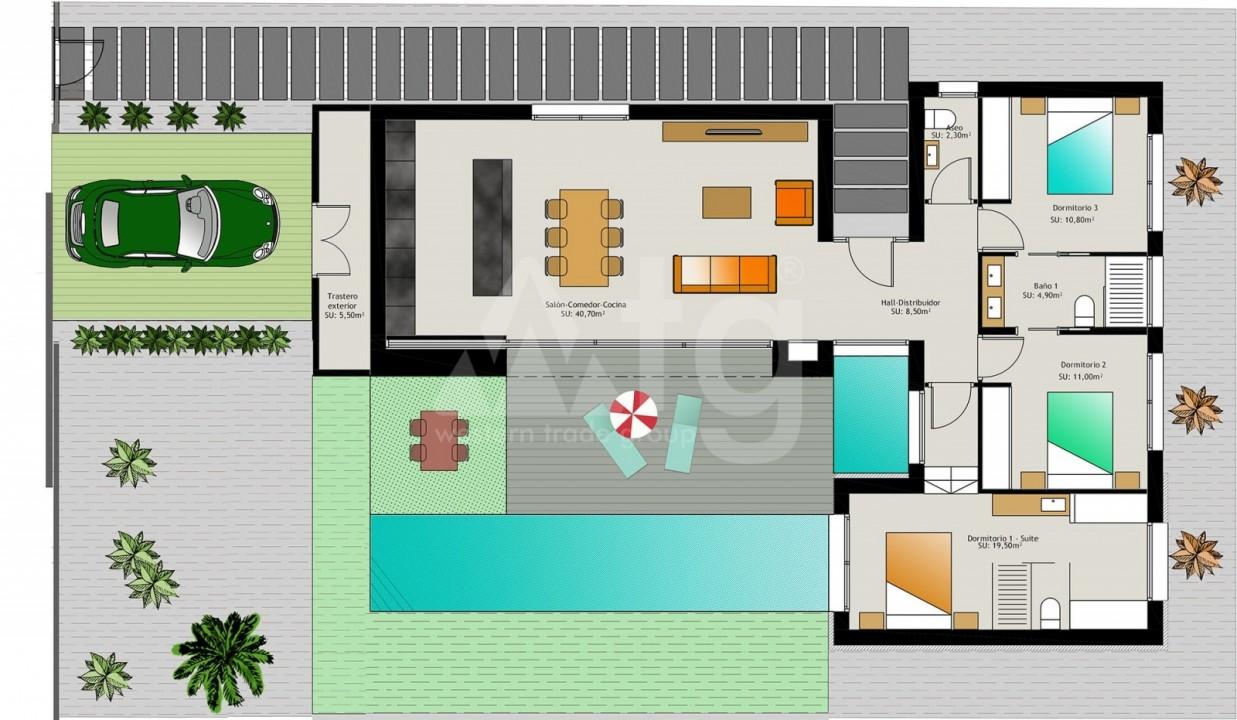 3 bedroom Villa in Benijófar  - M8142 - 9