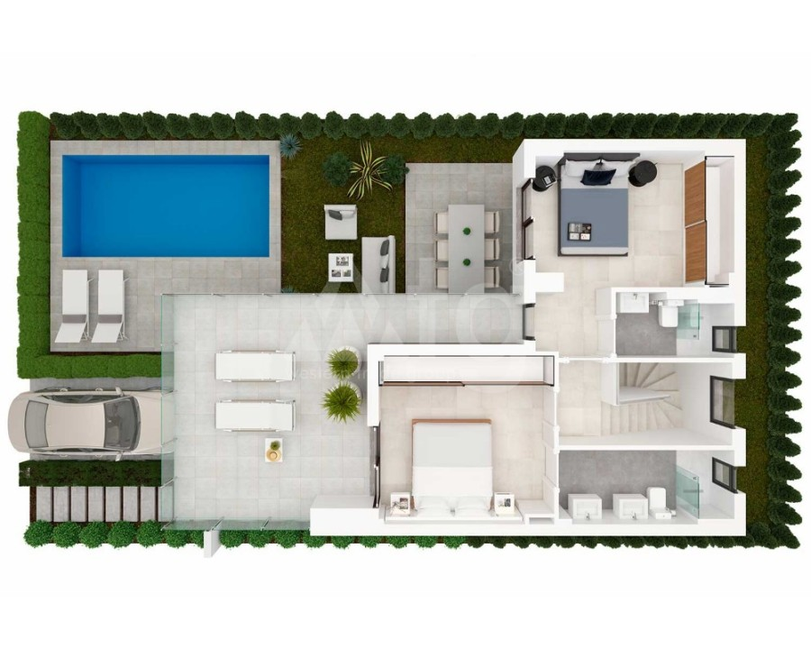 3 bedroom Villa in Pilar de la Horadada - OK8095 - 21
