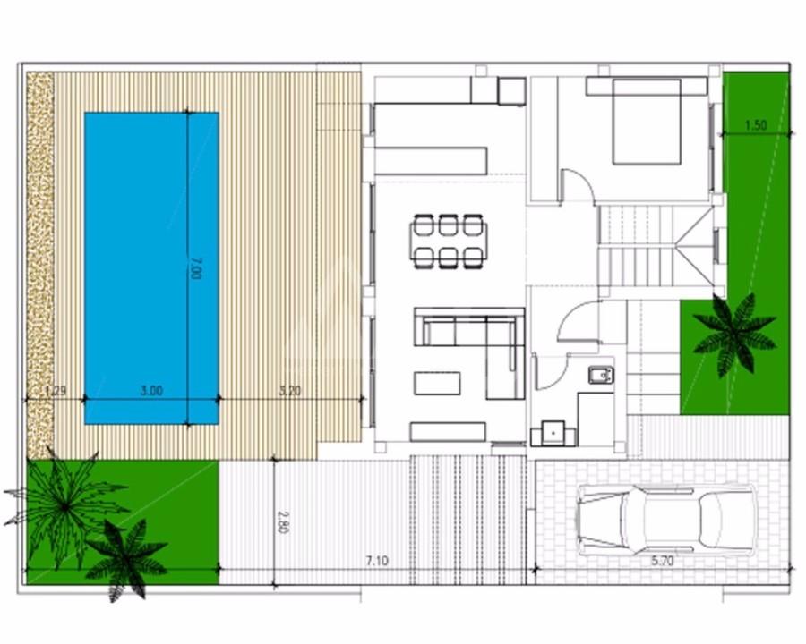 3 bedroom Villa in Ciudad Quesada  - LAI7748 - 7