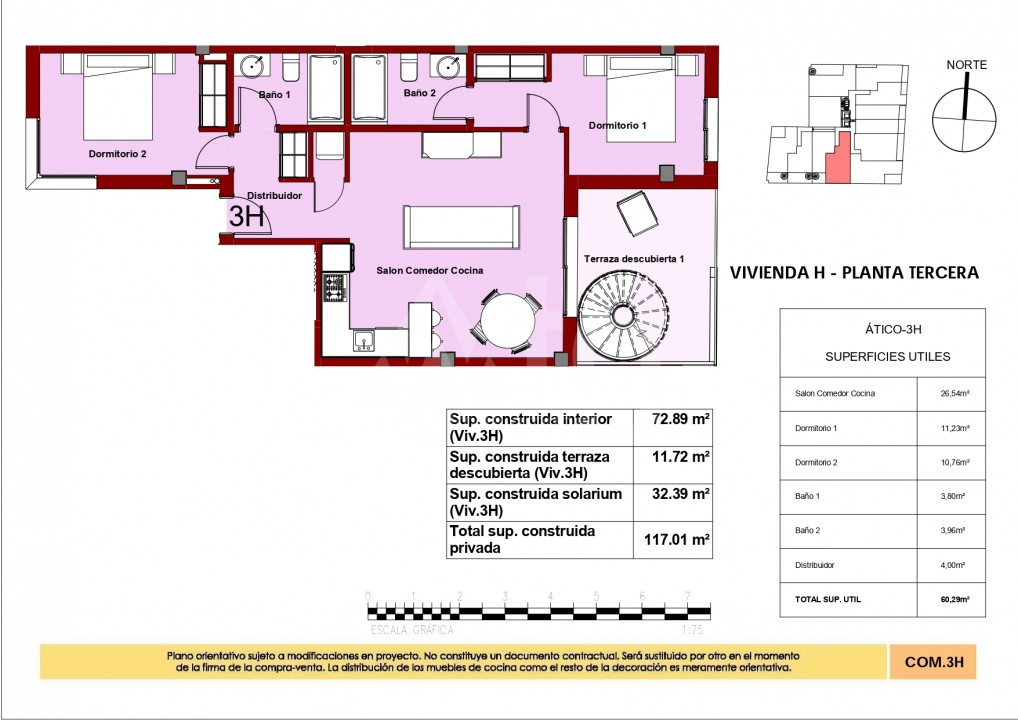 2 bedroom Penthouse in Torrevieja - AG8428 - 31