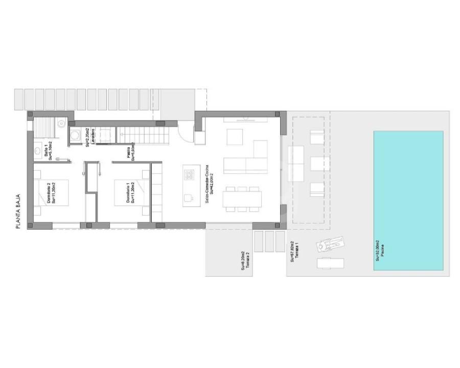 3 bedroom Villa in Ciudad Quesada  - LAI8065 - 11