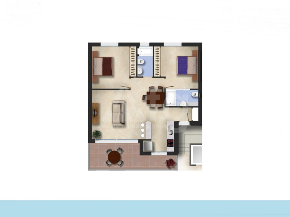 2 bedroom Apartment in Elche - ER2441 - 9