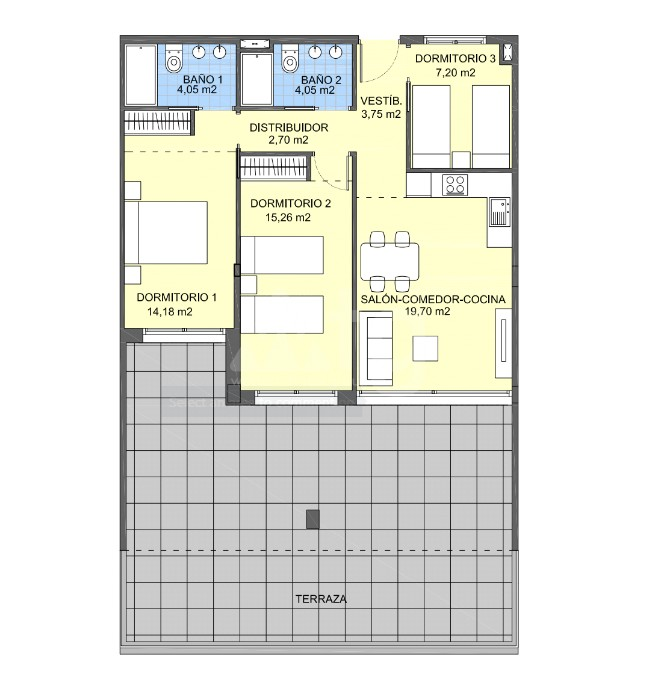 2 bedroom Apartment in Los Altos  - DI115800 - 17