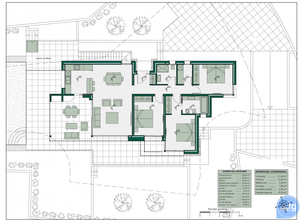2 bedroom Apartment in Mar de Cristal  - CVA115791 - 10
