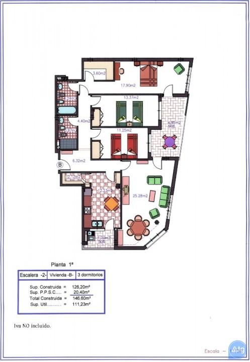 2 bedroom Apartment in San Pedro del Pinatar  - MGA7341 - 21