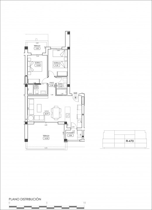 2 bedroom Apartment in Villamartin  - TRI114861 - 38