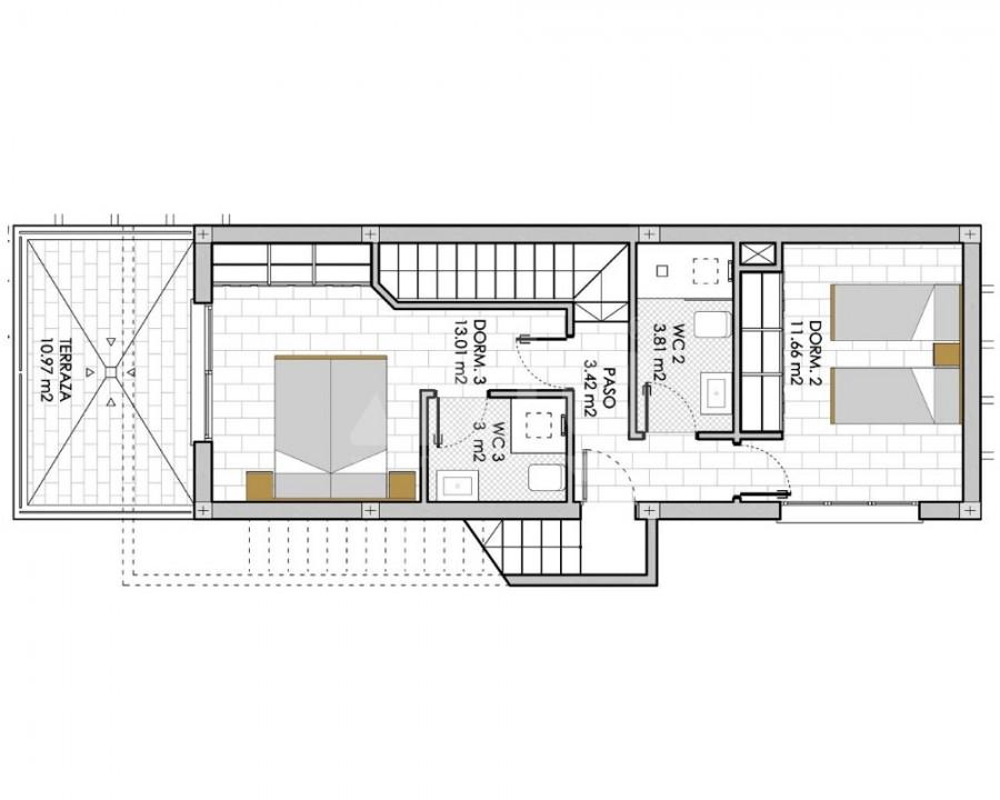 3 bedroom Apartment in Villamartin - GB7810 - 12