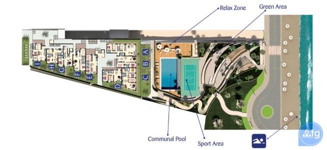 2 bedroom Apartment in Arenales del Sol  - ER7348 - 23