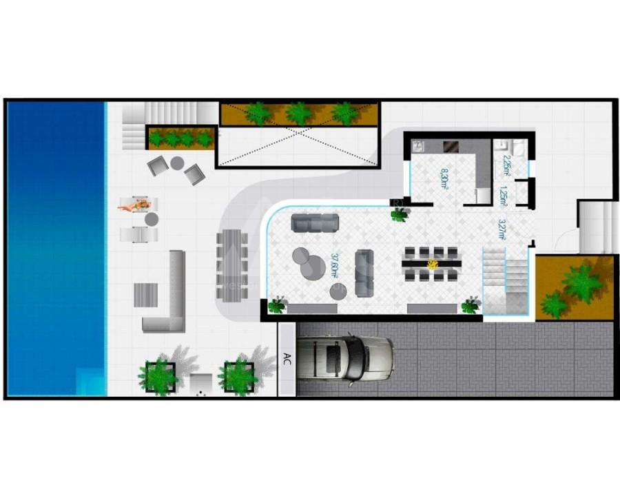 2 bedroom Bungalow in Algorfa - PT8114 - 10