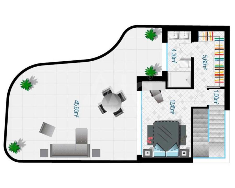 2 bedroom Bungalow in Algorfa - PT8114 - 11