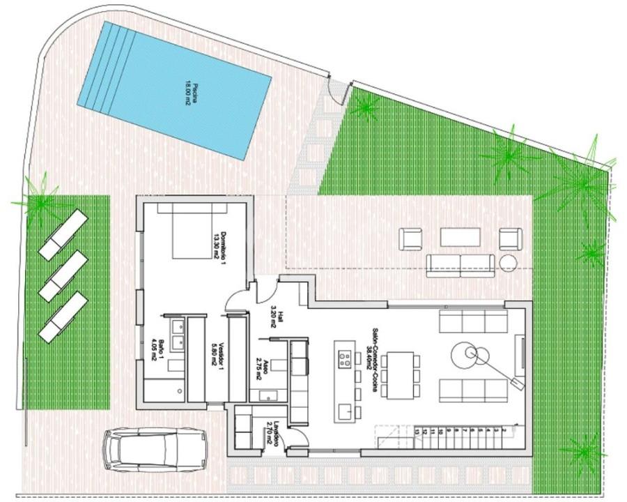 2 bedroom Bungalow in Guardamar del Segura - CN7847 - 16