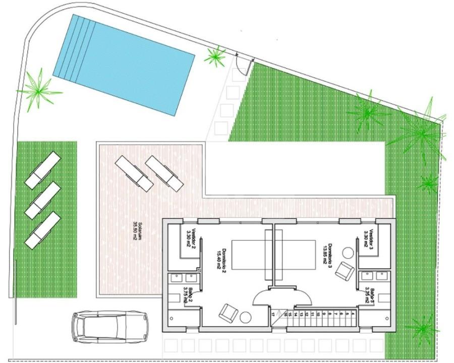 2 bedroom Bungalow in Guardamar del Segura - CN7847 - 17