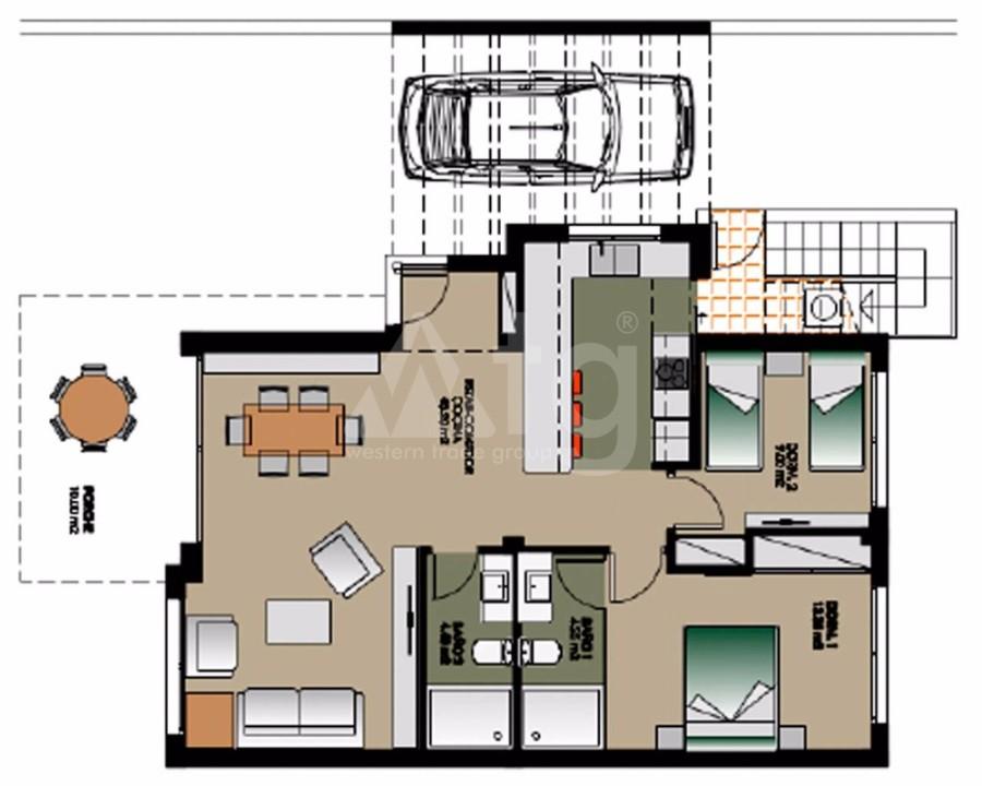 2 bedroom Bungalow in Guardamar del Segura - CN7814 - 16
