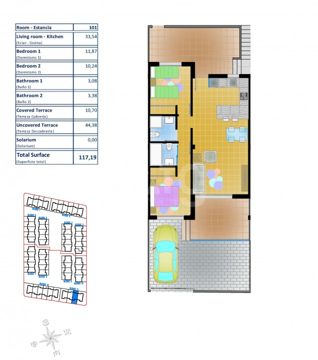 2 bedroom Bungalow in Pilar de la Horadada  - LMR115217 - 27