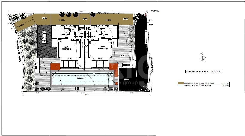 3 bedroom Bungalow in San Miguel de Salinas - AGI115745 - 14