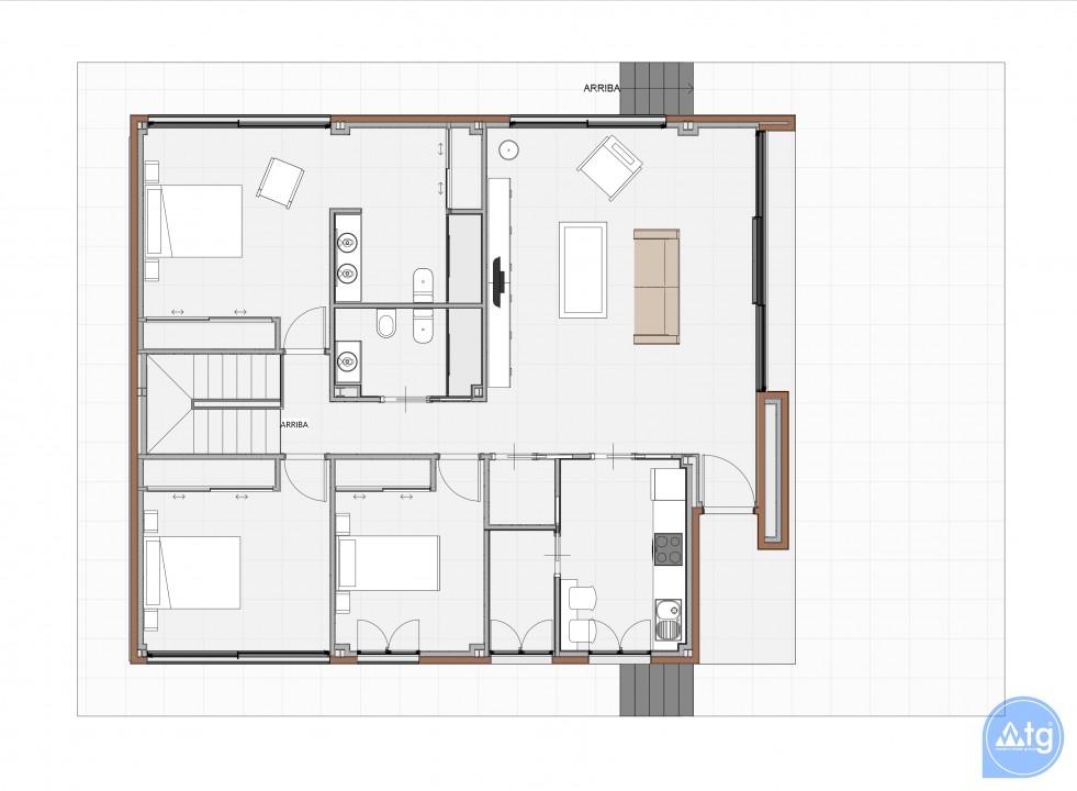 2 bedroom Bungalow in Torrevieja - US6856 - 8