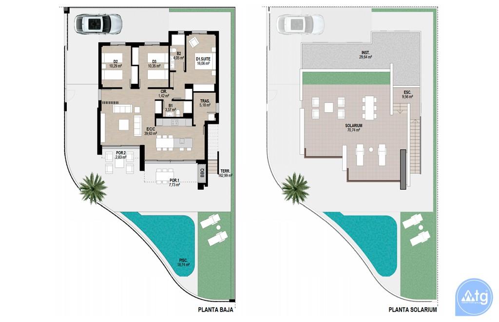 2 bedroom Bungalow in Torrevieja  - AGI5752 - 16