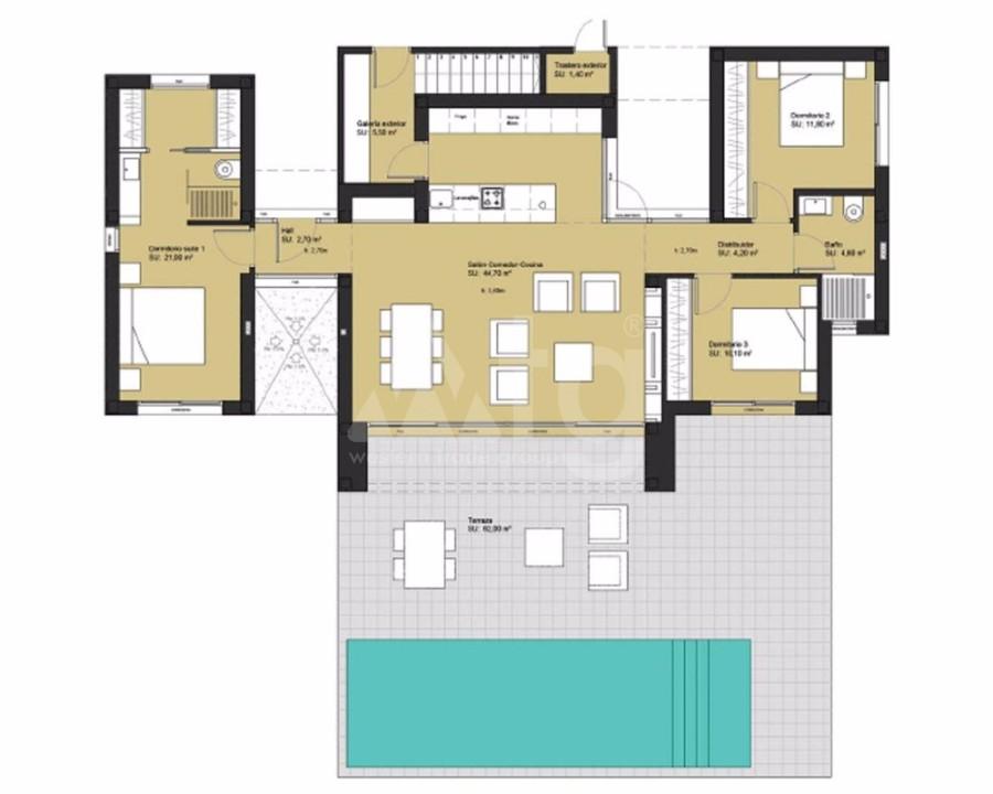 2 bedroom Bungalow in Torrevieja - GDO7743 - 22