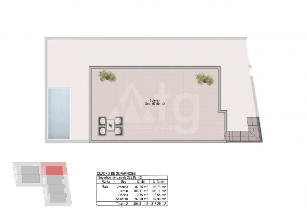 3 bedroom Bungalow in Orihuela Costa - OP7182 - 8