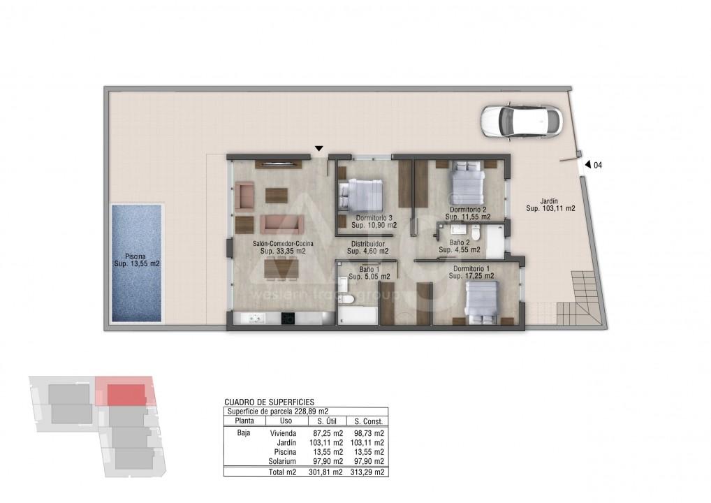 3 bedroom Bungalow in Orihuela Costa - OP7182 - 9