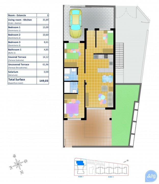 2 bedroom Bungalow in Pilar de la Horadada  - LMR115210 - 24