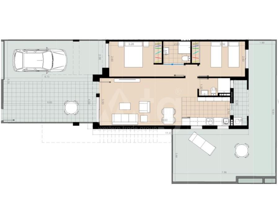 2 bedroom Bungalow in Torrevieja - IM8236 - 8