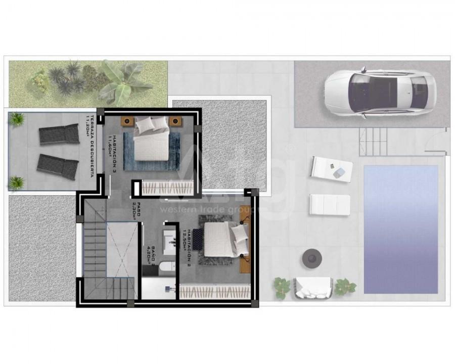 2 bedroom Bungalow in Algorfa - PT8106 - 6