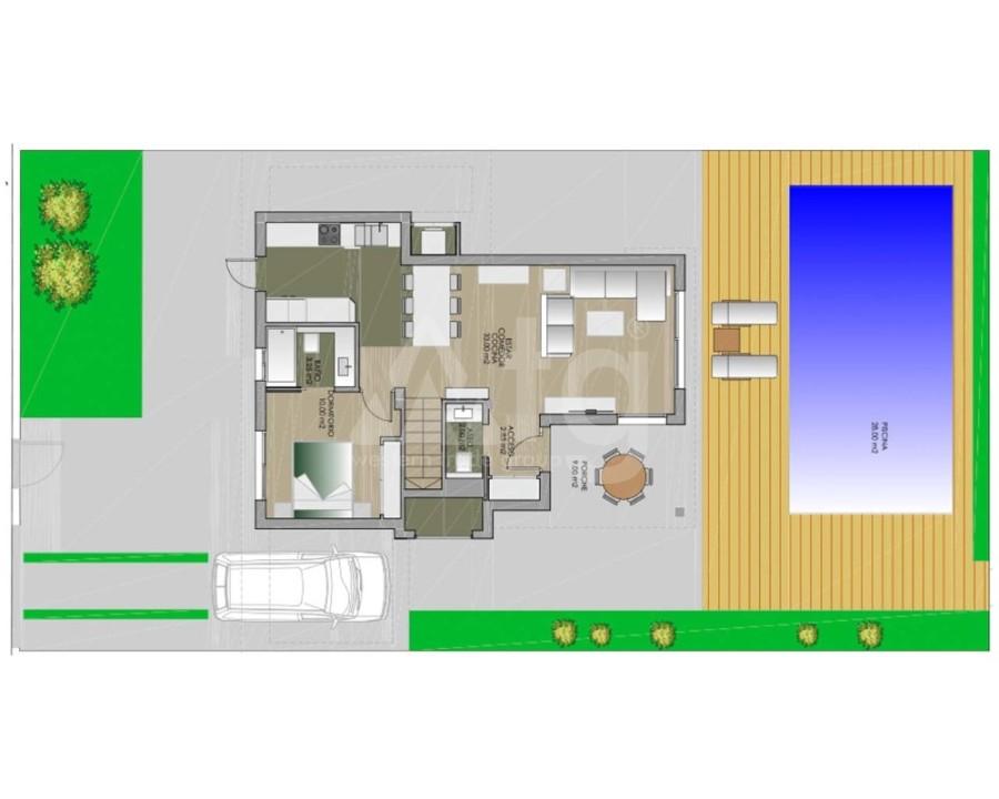 3 bedroom Duplex in Orxeta - APS7775 - 24