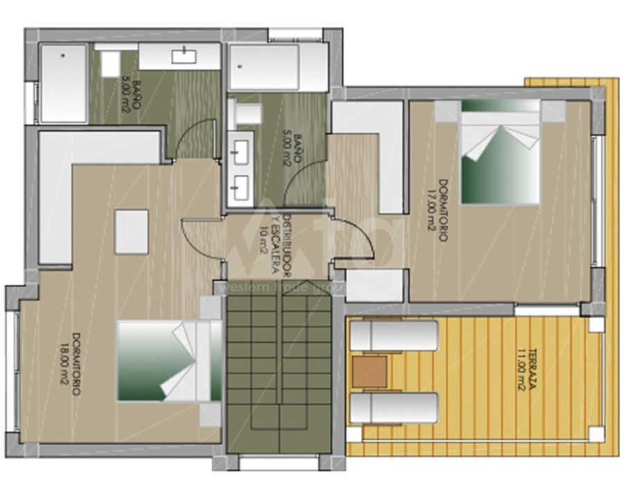 3 bedroom Duplex in Orxeta - APS7775 - 25