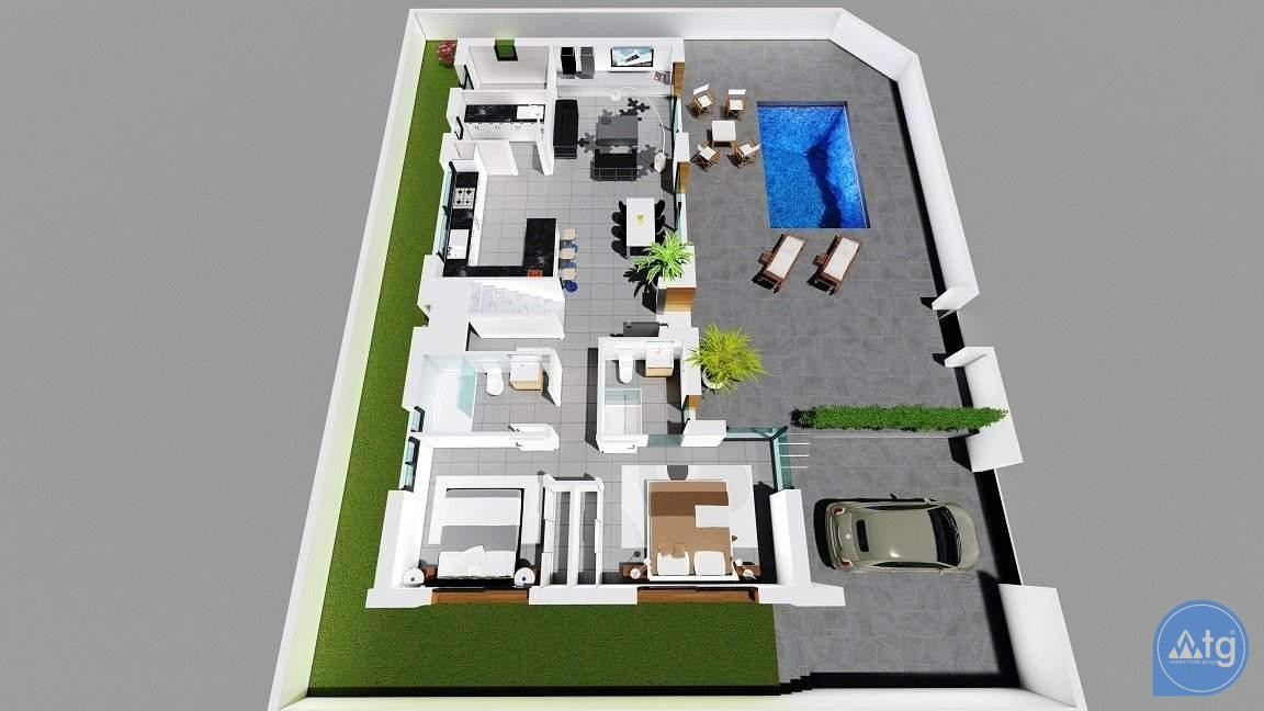 3 bedroom Villa in Benijófar  - GA7631 - 28