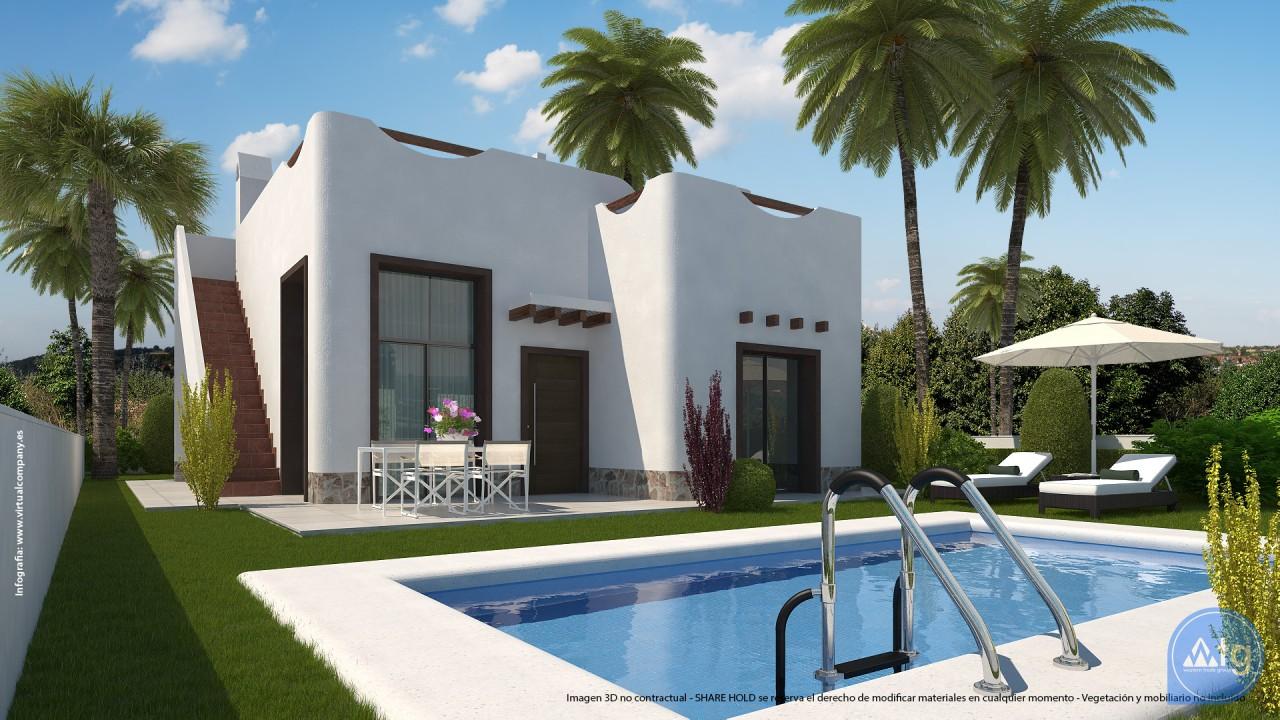 2 bedroom Villa in Ciudad Quesada  - JQ115401 - 1