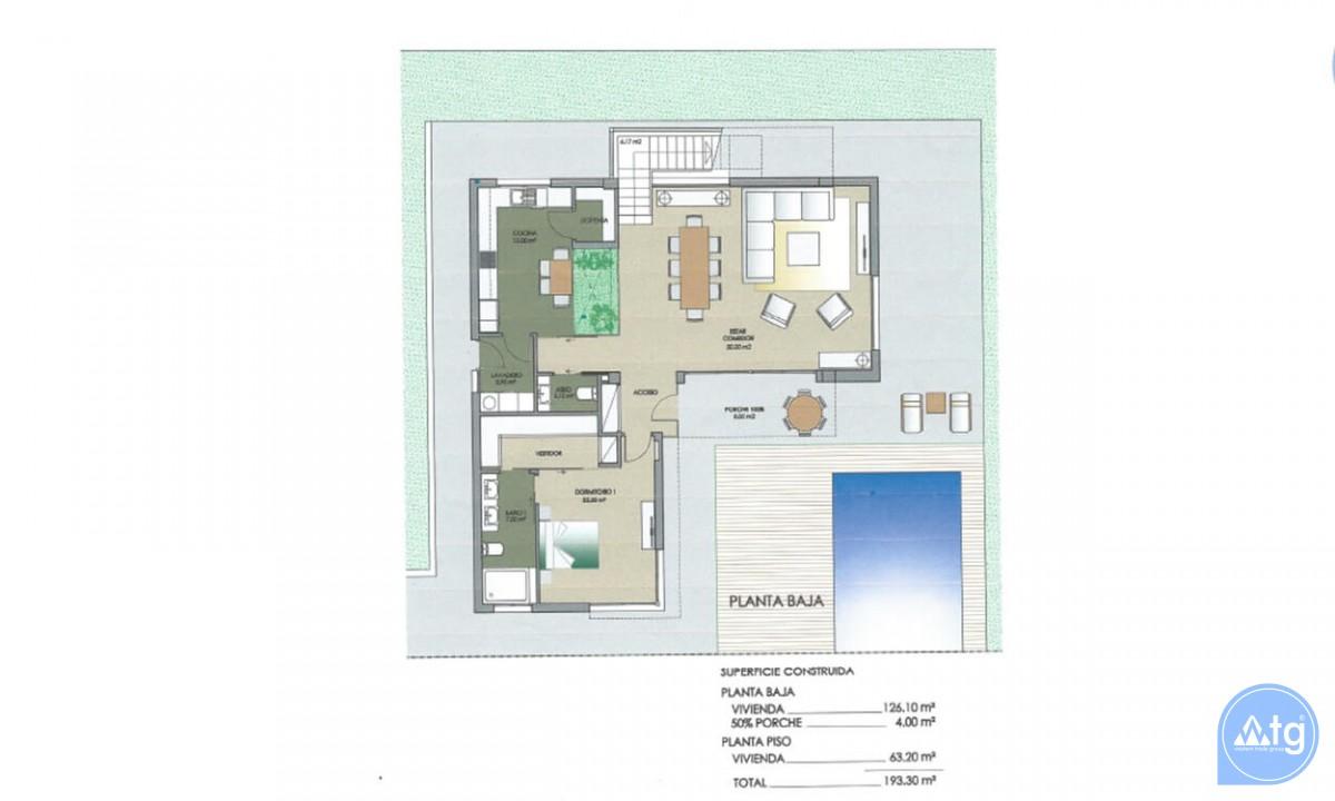 3 bedroom Villa in Dehesa de Campoamor  - AGI115706 - 37