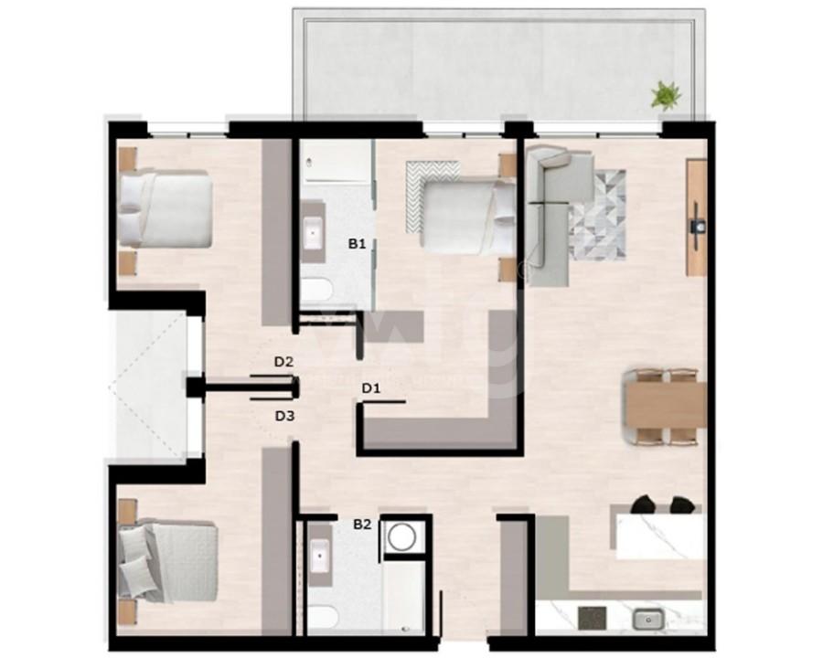 3 bedroom Villa in San Miguel de Salinas  - GEO8123 - 7