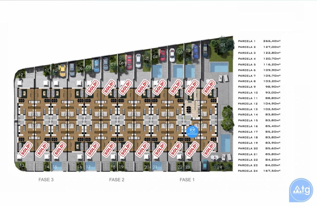 3 bedroom Villa in Villamartin - HH6396 - 34