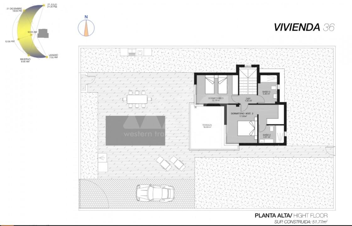 3 bedroom Villa in San Pedro del Pinatar - GU6649 - 11