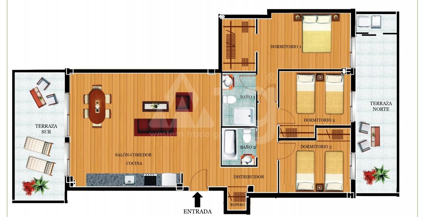 3 bedroom Villa in Torrevieja - VR6708 - 9