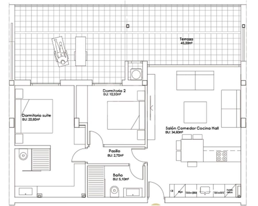3 bedroom Penthouse in Villamartin - NS8288 - 4