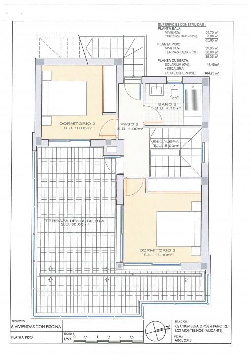 3 bedroom Villa in Los Montesinos  - OI7627 - 36