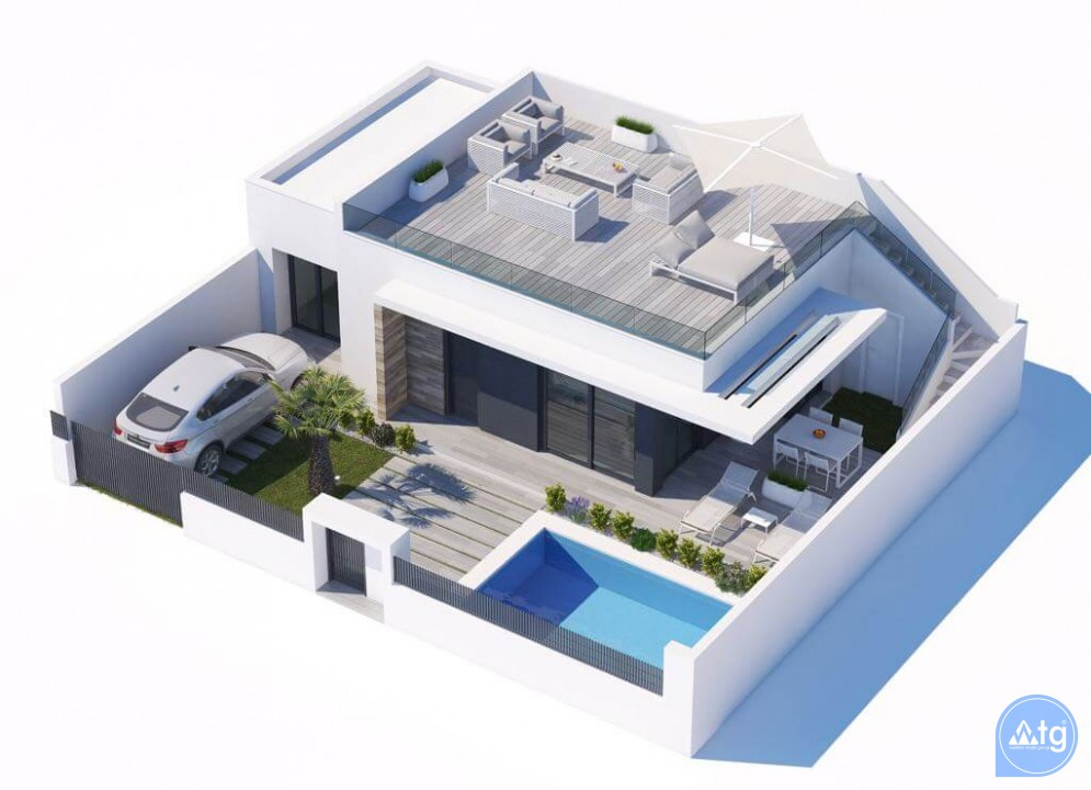 3 bedroom Villa in Vistabella - VG8021 - 20