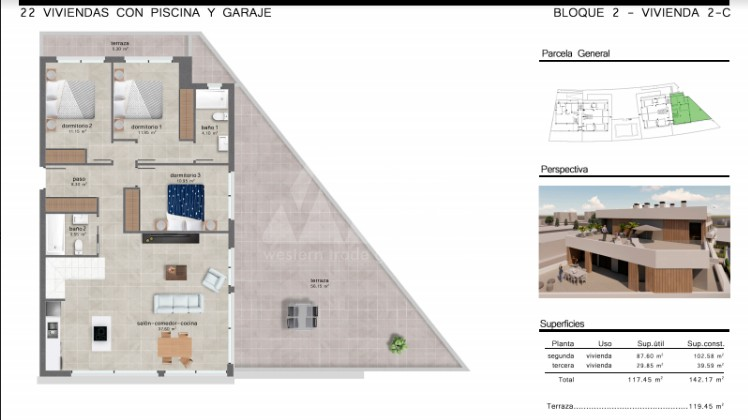 Bungalow de 2 chambres à Torrevieja - AGI5758 - 10