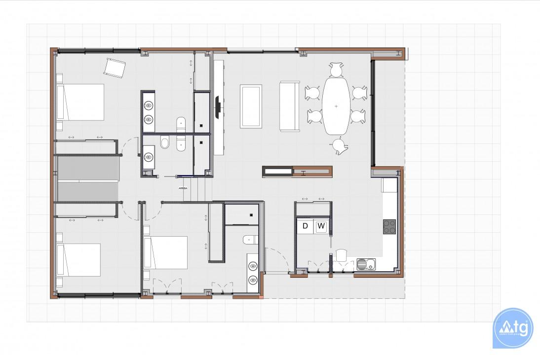 Bungalow de 2 chambres à Torrevieja - US6858 - 8