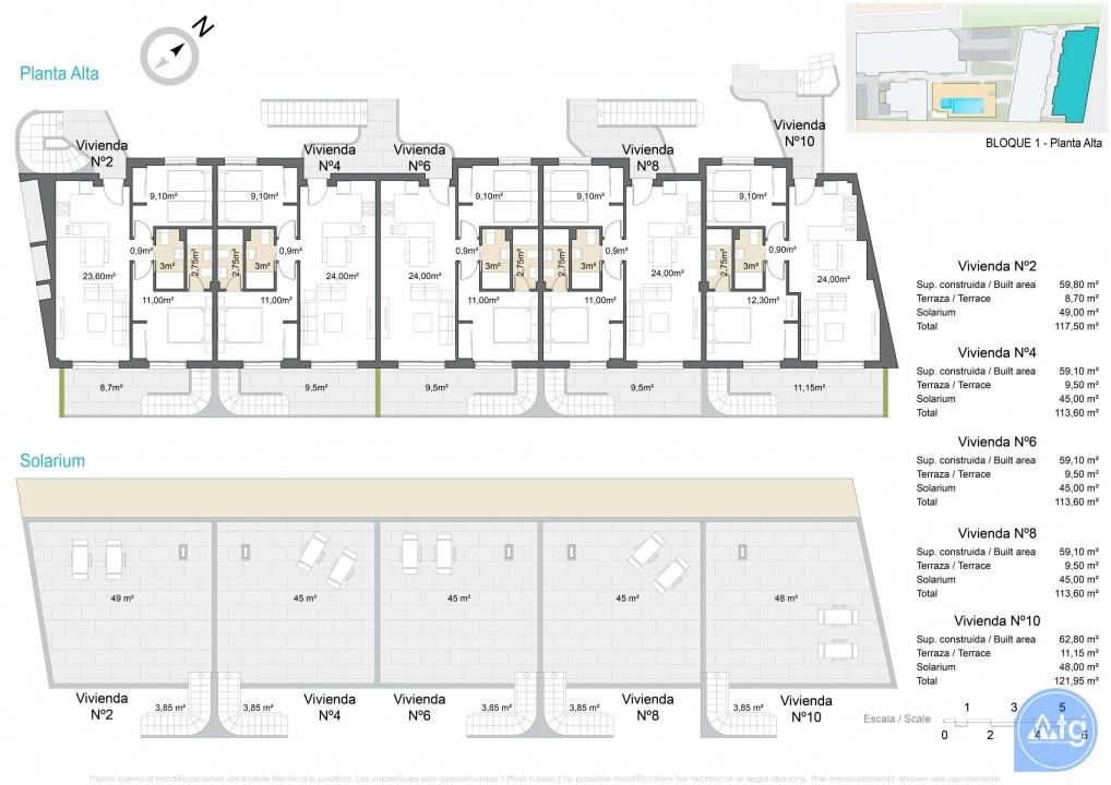 Bungalow de 2 chambres à Torrevieja - AGI5754 - 7