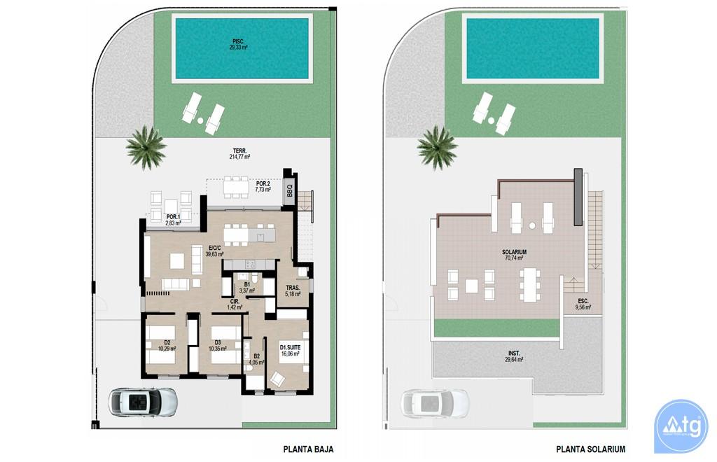 Bungalow de 2 chambres à Torrevieja - AGI5752 - 17