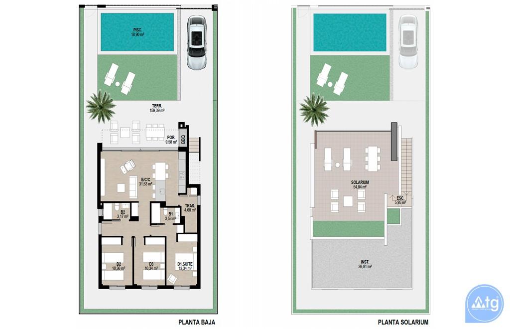 Bungalow de 2 chambres à Torrevieja - AGI5752 - 18
